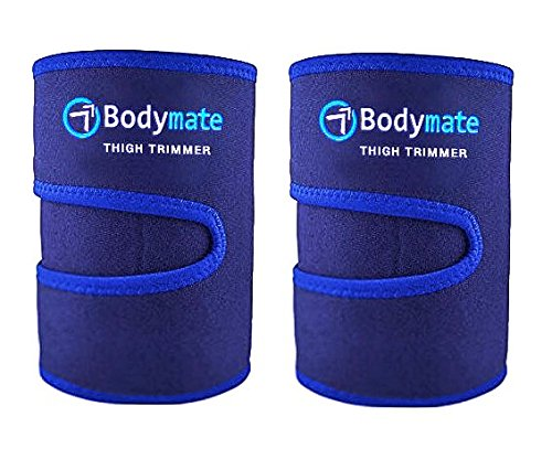 Bodymate Thigh Trimmers/Trainers/Toners sport fitness band stabilizers for water weight loss flex force resistance exerciser/equalizers body fat workout belly/tummy by Bodymate