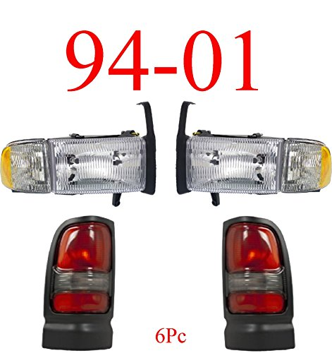 01 ram tail head light - 6