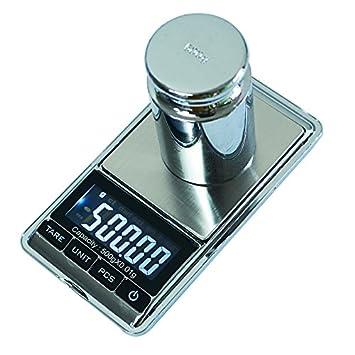 Joyería Dongjinrui escala 0,01g/500g de precisión Báscula Electrónica portátil LCD digital de