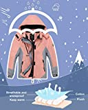 Wantdo Girl's Windproof Winter Puffer Coat