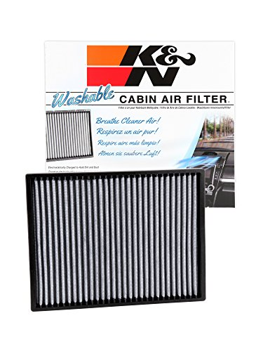 K&N VF3001 Washable & Reusable Cabin Air Filter Cleans and Freshens Incoming Air for your Buick, Cadillac, Pontiac, Oldsmobile