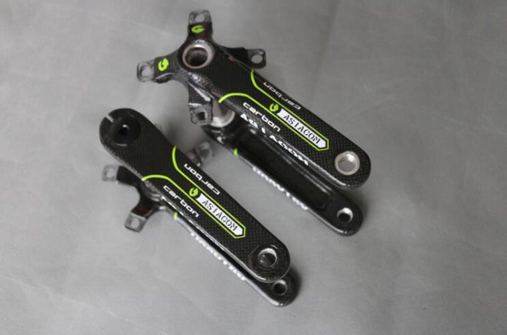 AS-KR002 自転車クランク T800 クランク マウンテンバイク/ロードバイク用 クランク B07DQGTHRL ロードバイク用