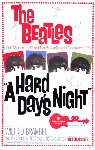 Hard Day's Night, A (1964) - 11 x 17  - Style A
