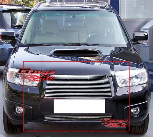 06-08 Subaru Forester Billet Grille Grill Combo Insert # I67710A