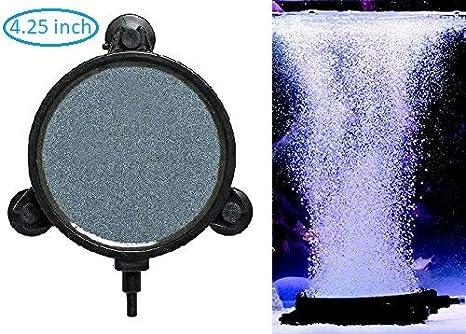 "5/"" Round Air Stone-Aquarium Culture Hydroponique /& Fish Tank haute qualité Diffuseur d/'air"
