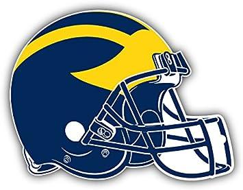 University of Michigan Helmet Stickers Logo Wolverines Decal Vinyl Bumper