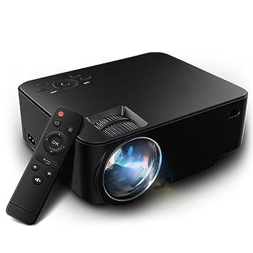 joyhero M1 Portátil LED proyector, videoproyector 1500 lumens 800 ...