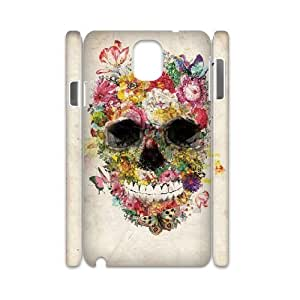 Skull Personalized 3D Cover Case for Samsung Galaxy Note 3 N9000,customized phone case ygtg557631