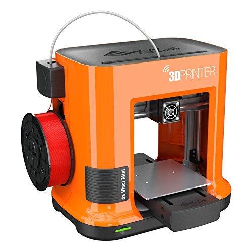 da Vinci mini Wireless 3D Printer-6''x6''x6'' Built Volume (Includes: $14 300g PLA Filament, $49 STEAM 3D Design Tutorial eGift Card – Must Register Product, $10 Maintenance Tools, XYZmaker CAD Software) by XYZprinting (Image #1)