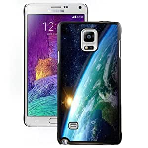DIY and Fashionable Cell Phone Case Design with Earth Sunrise From Space Galaxy Note 4 Wallpaper