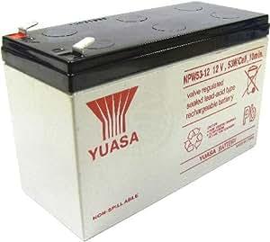 Cablematic - Batería para SAI de 12V y 10Ah
