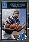 2016 Donruss #377 Jordan Howard Chicago Bears Football Rated Rookie Card-MINT