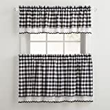 Best BrylaneHome Home Curtain Panels - BrylaneHome Buffalo Tier Curtain Review