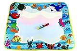 Rangebow Undersea World 60x49cm Magic Multi-color Drawing Mat with 1 Magic pen Aqua / Water Drawing Mat