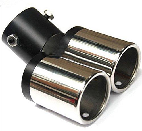 'Goliton® Auto tubo de escape de doble tubo tubos de escape Silenciador coche modificado escape tubos de escape ' CAR.T04.ADI.053.XXS