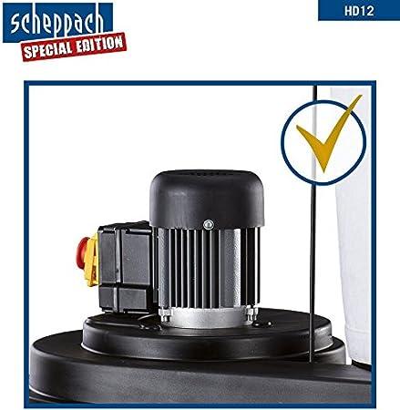 Aspirador Scheppach HA1600/HD12, incluyeConjunto de adaptadores, 4 piezas y 5 sacos colectores.: Amazon.es: Bricolaje y herramientas
