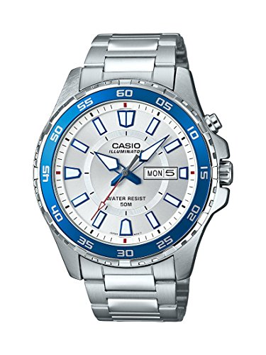Casio-Mens-Super-Illuminator-Quartz-Stainless-Steel-Casual-Watch-ColorSilver-Toned-Model-MTD-110D-7AVCF