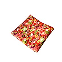 Sitong men's suit cotton floral printed pocket square handkerchief(MKH-033)