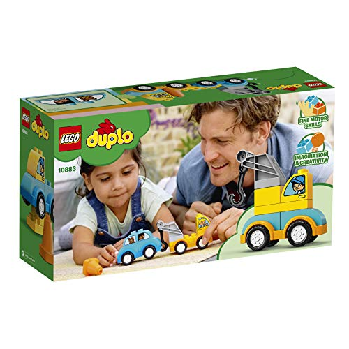 LEGO DUPLO My First Tow Truck 10883 Building Blocks (11 Pieces)