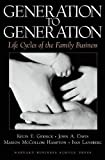 img - for Generation to Generation: Life Cycles of the Family Business book / textbook / text book