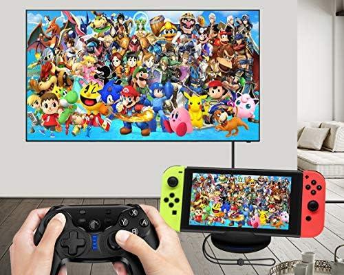 TV Dock, HDMI Adaptador para Nintendo Switch – PeakLead NS TV Adapter, Soporte y estación de Carga, USB C Cargador Stand Charger: Amazon.es: Electrónica