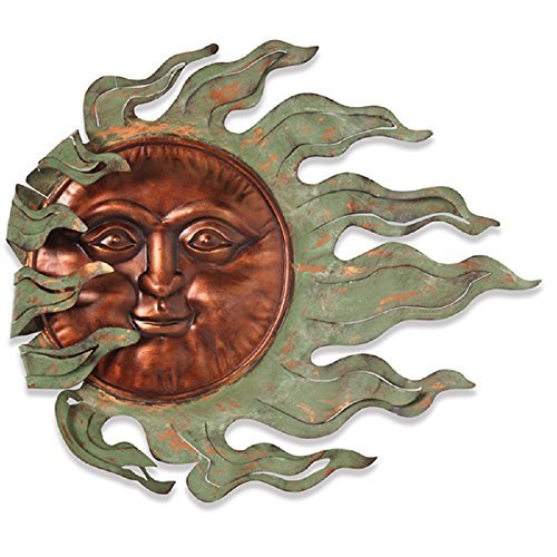- GIL 2071130 26.7InL Sun Face Wall Hanging Spring 25InL x 2.5InW x 22InH Multicolor