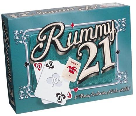 21 card rummy