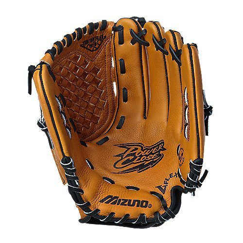 Mizuno Youth GPL1154 Prospect Fielder's Mitt (Peanut, 11.50-Inch, Right Handed (Web Infielders Right Handed Throw)