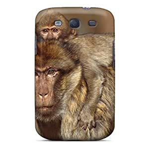 New Barbary Macaques Morocco Skin Case Compatible With Galaxy S3