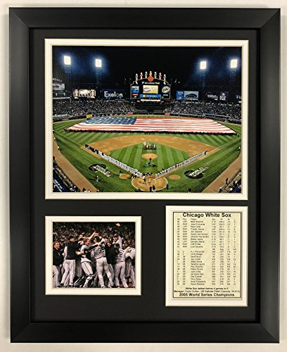 Legends Never Die Chicago White Sox - 2005 World Series - US Cellular Field - Framed 12