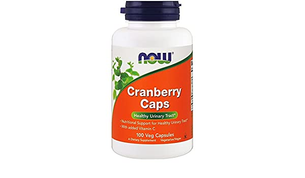 Amazon.com: Now Foods, Cranberry Caps, 100 Veg Capsules: Health & Personal Care