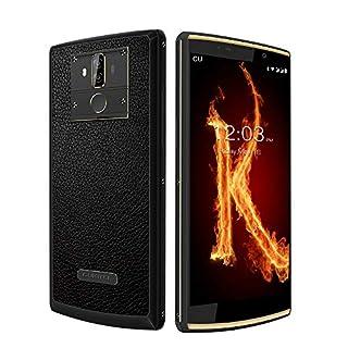 10000mAh Unlocked Cellphones OUKITEL K7 Pro, 4GB+64GB Android 9.0 4G Smartphone 6'' Dual SIM 13MP+5MP Dual Camera Octa Core Face ID & Fingerprint-Black