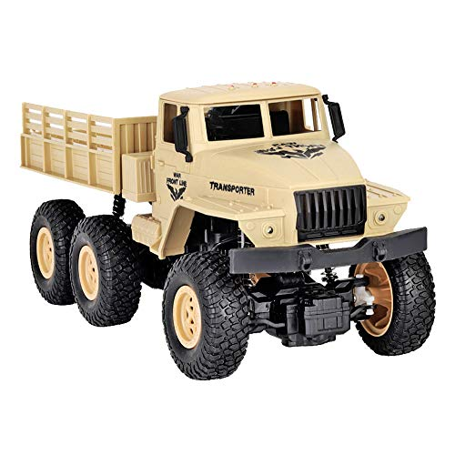Military Truck Car Hot Sale!NDGDA  JJR/C Q68 RC1:18 2.4G Remote Control 4WD Tracked Off-Road RTR Vehicle (Yellow) (Best Rc Drift Cars For Sale)