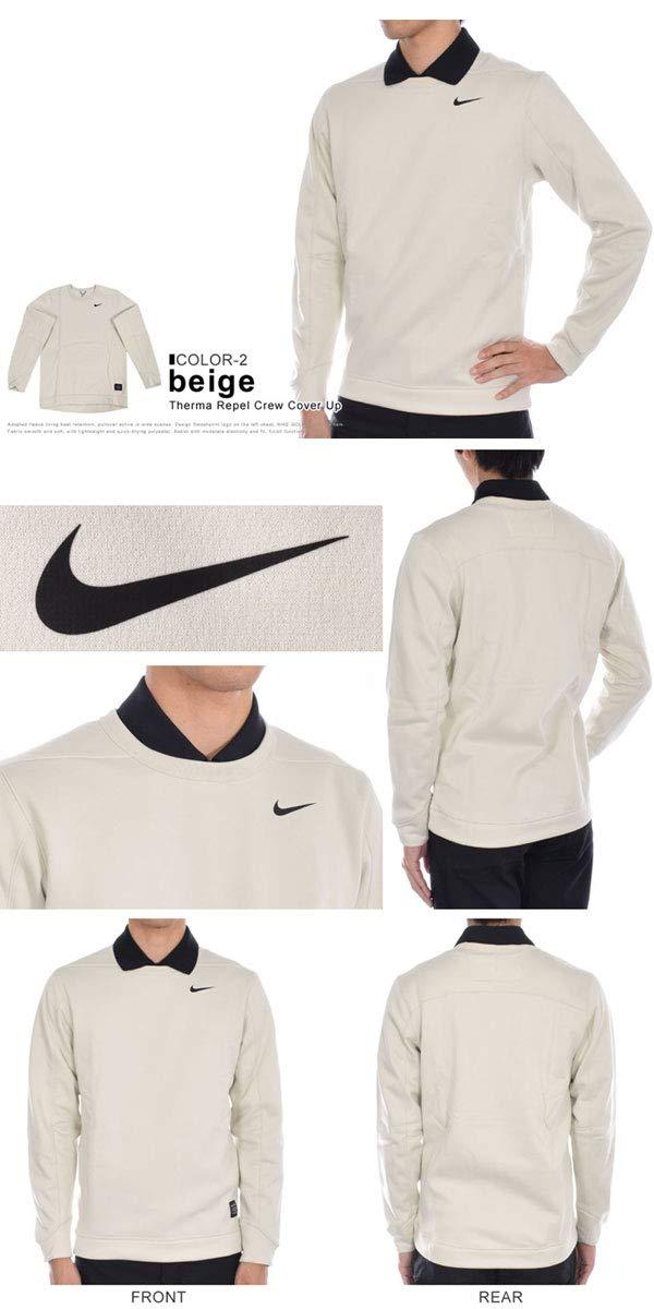 Nike Therma Repel Top Crew Golf Sweater 2019 Light Bone/Black Small