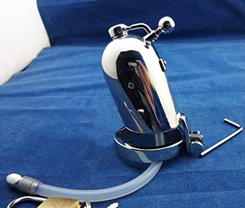 Hetam Newest Desige Male chastity device Stainless steel cock Cage Metal Cock Ring Sex Toys male chastity CB3000 by Hetam