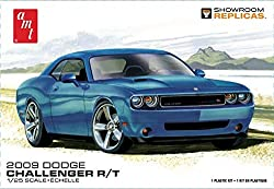 AMT 1117 2009 Dodge Challenger R/T 1:25 Scale Plastic Model Kit - Requires Assembly from Round 2