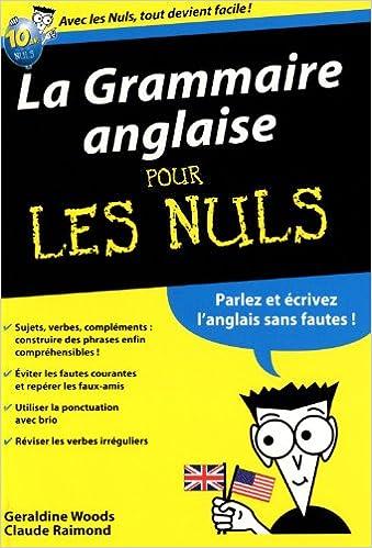 Lire en ligne La Grammaire anglaise Poche Pour les Nuls pdf, epub ebook