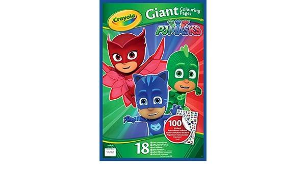 Crayola PJ Masks páginas Meatballs de para colorear con pegatinas, 04 - 0418-e-000: Amazon.es: Juguetes y juegos