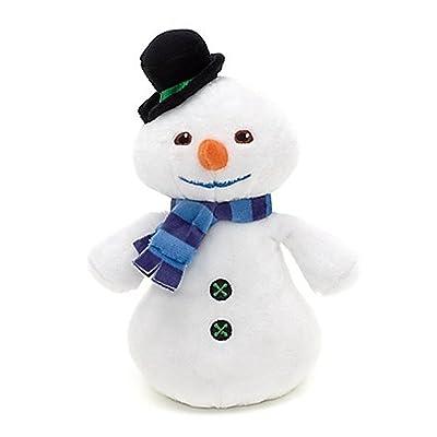 "Disney Junior Jr Doc McStuffins 8 1/4"" CHILLY Beanbag Plush McStuffin Snowman : Plush Animal Toys : Baby"
