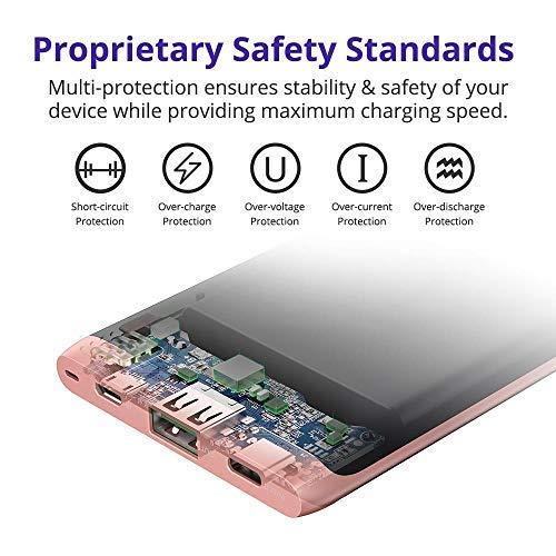 Powerbank 10000 mAh PD 3.0, Tronsmart Power Bank 10000mAh 18W Rapida Carica Batteria Esterna Portatile Cellulare 【Power Delivery 3.0】e QC 3.0 Dual USB Output iPhone XS / XS Max / XR / 8 / 8PLUS / x, Samsung S9/Note 8/S8, Google Pixel, ecc.