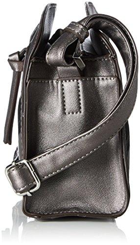 Tamaris Elsa Crossbody Bag - Borse a tracolla Donna, Grau (Pewter Comb), 8x16.5x25 cm (B x H T)