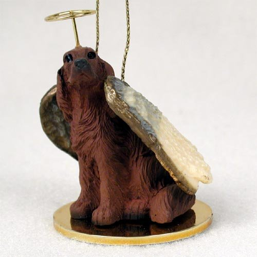 Irish Setter Pet Angel Ornament by Conversation Concepts
