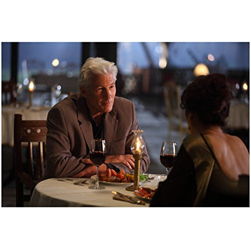 The Best Exotic Marigold Hotel 8x10 Photo Richard Gere Having Dinner w/Woman kn by photograph