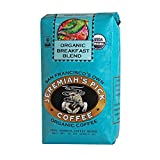 Jeremiah's Pick Coffee Organic Breakfast Blend, Dark Roast Whole Bean Coffee, 10-Ounce Bags (Pack of 3)