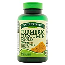 Nature's Truth Turmeric Curcumin Complex 500 mg plus Black Pepper Extract Quick Release Capsules - 60 ct