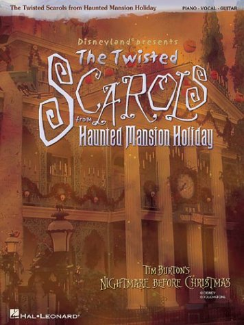 Disneyland  Presents The Twisted Scarols from Haunted Mansion Holiday (Before Christmas Music Nightmare Piano)
