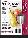 Zipper Seal Vacuum Sealer Bags Gallon Size (30 Re-sealable bags...