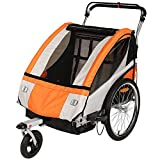 Best custom bike trailer - Clevr Collapsible 3-in-1 Double Bicycle Trailer Baby Bike Review