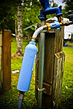 Camco Tastepure Water Filter With Flexible Hose Protector Greatly Reduces Bad Taste, Odors, Chlorine & Sediment In Drinking Water (40043) 2