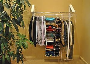 Nice Arrow Hanger AH3X12 Quik Closet Clothes Storage System